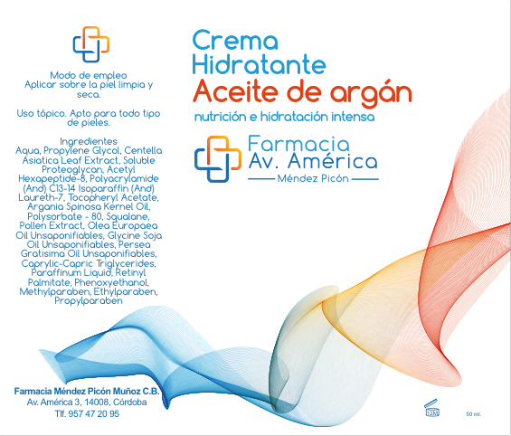 Crema hidratante al aceite de argan