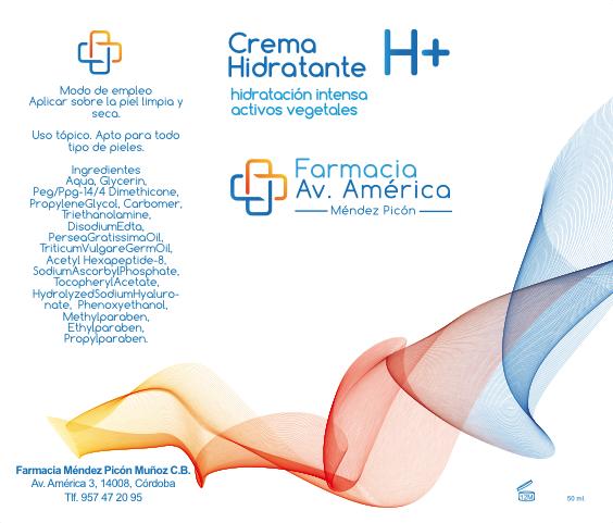 Crema hidratante de farmacia