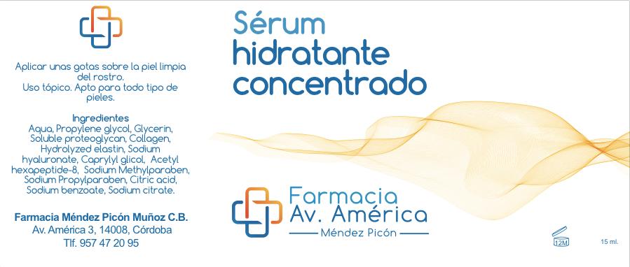 Serum de hidratación concentrada